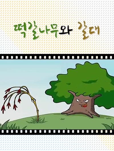 떡갈나무와 갈대의 책표지