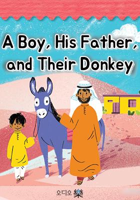 A Boy, His Father, and Their Donkey의 책표지