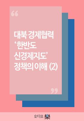 대북 경제협력 '한반도 신경제지도' 정책의 이해(2)의 책표지